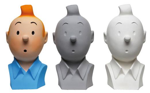 Moulinsart, Buste Tintin, CollectionTintin.com