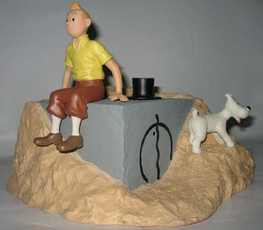 Tintin Tombeau Keops , CollectionTintin.com
