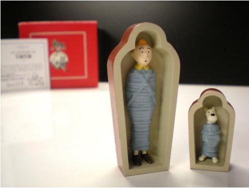 Sarcophage Tintin Milou CollectionTintin.com